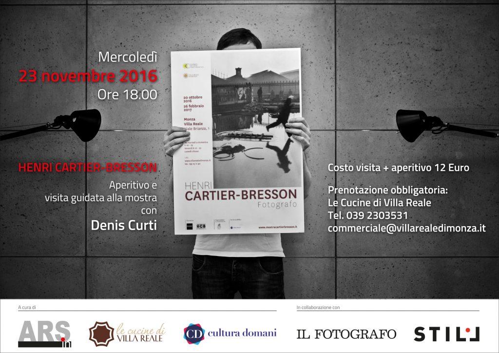 Denis Curti guida speciale mostra Henri Cartier-Bresson