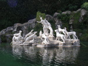 fontana diana e atteone gruppo atteone reggia caserta