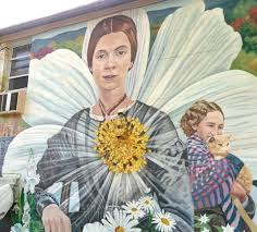 emily dickinson - murales ad ahmerst