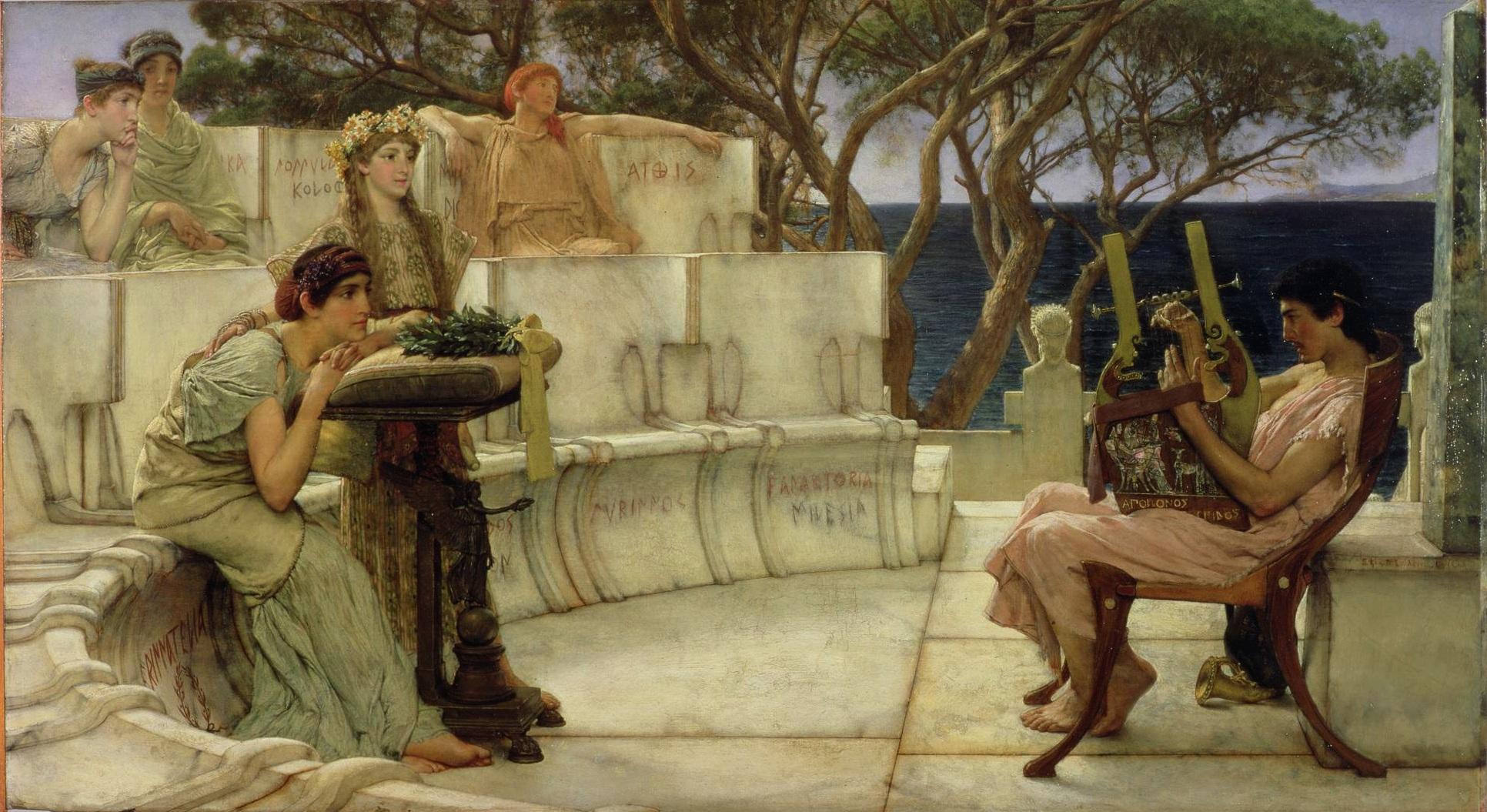 Poetesse famose dell'antichità: Anite, Nosside, Erinna