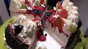 torta enjoy arte contemporanea chiostro del bramante