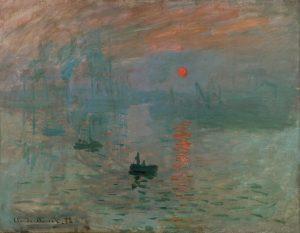 Monet, Impressione, levar del sole, 1872