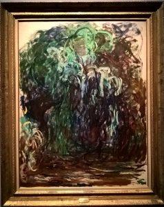 Monet, Salice piangente, 1921-1922