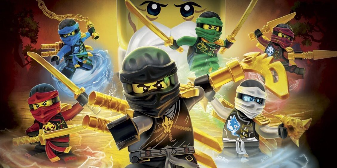 Lego ninjago il film divertimento a forma di mattoncini