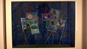 Toti Scialoja, Bozzetto per Rapsodia in blu (Gershwin), 1948, Artisti all'Opera, Palazzo Braschi