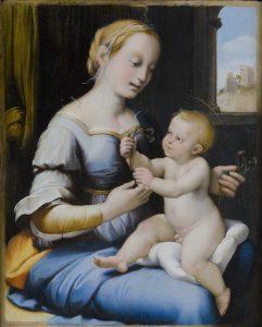 La Madonna Esterhàzy di Raffaello in mostra a Palazzo Barberini