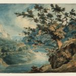 Turner, View in the Avon Gorge, 1791