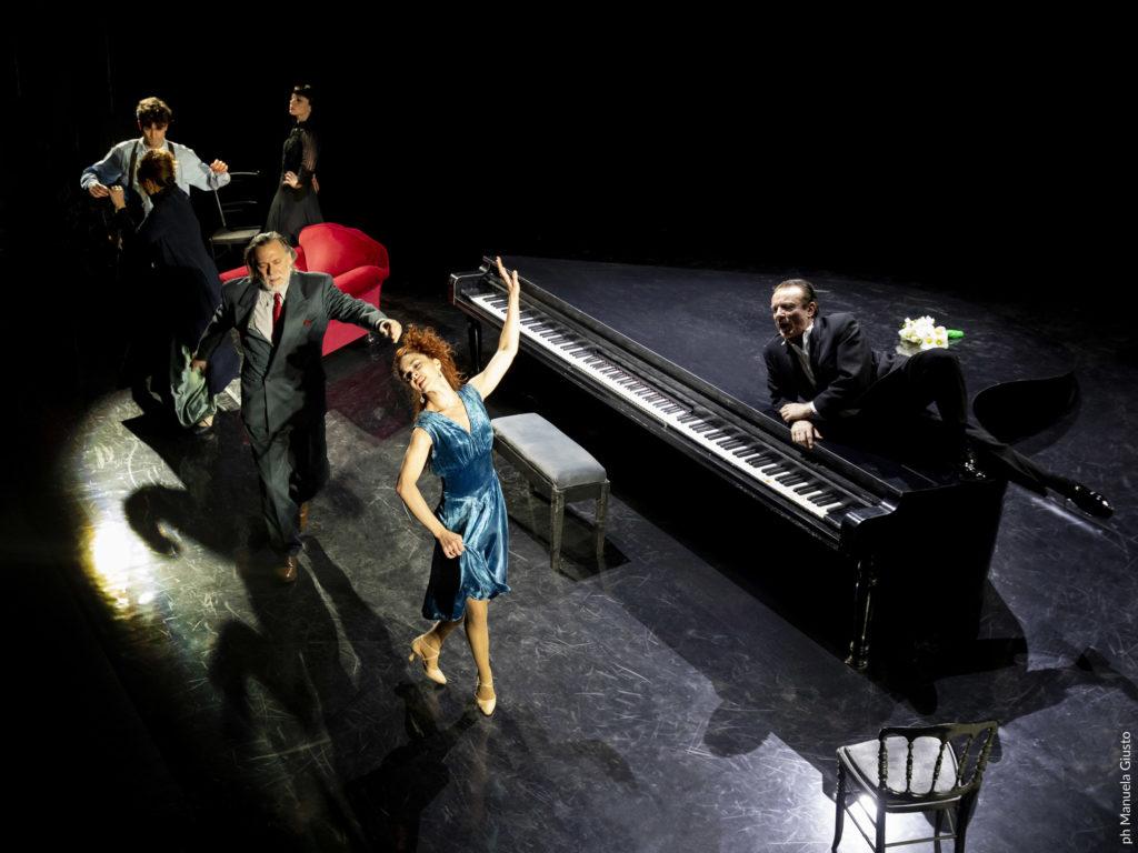 Il Gabbiano Cechov teatro quirino massimo ranieri
