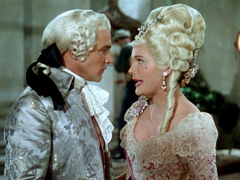 Don Lockwood in scena con Lena