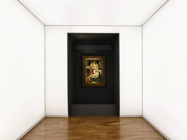 compianto sul cristo morto -botticelli opere
