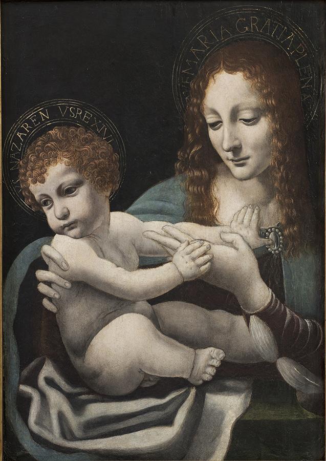 Ambrogio De Predis, Madonna con bambino