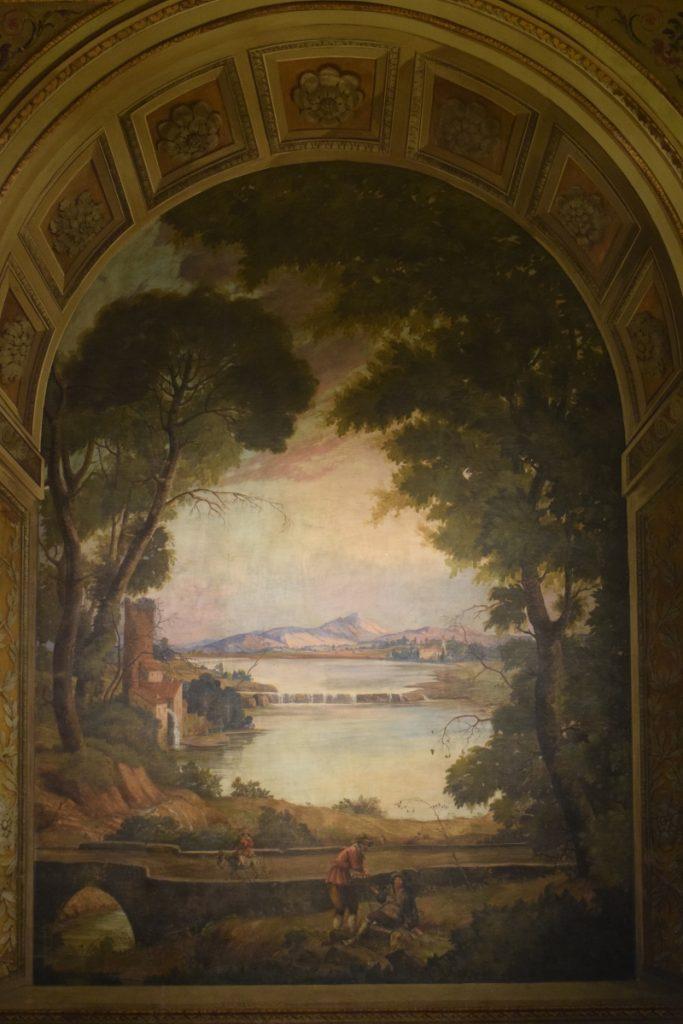 Affresco Sala Ricevimenti Palazzo Bonaparte