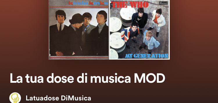 playlist musica mod the who