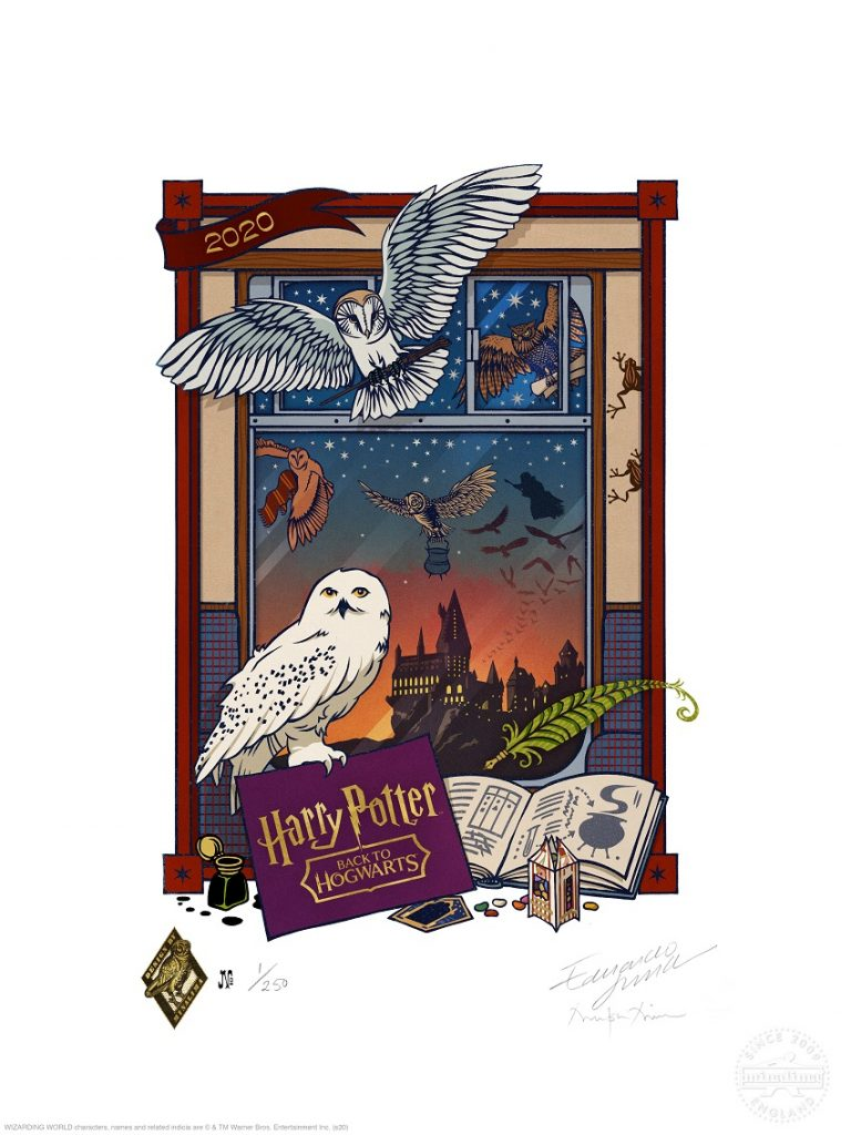 Harry potter hogwarts 1 settembre 2020